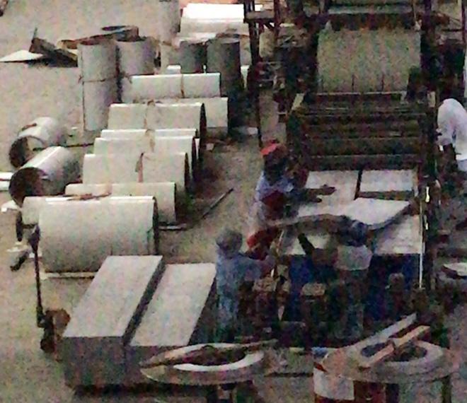 彩钢板生产线案例